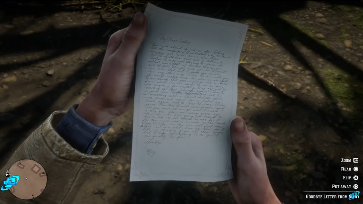 Mary's letter